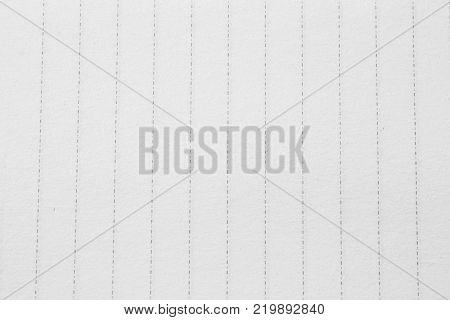 White note paper. black graph lines. Sheet of looseleaf paper, detailed lined paper texture