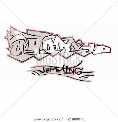 Jamming vector grafitti