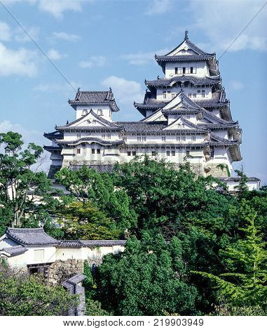 Himeji Castle in Japan is also known as White Heron Castle. It is Japan's most spectacular castle for its imposing size and beauty and its well preserved, complex castle grounds.