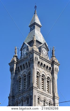 Erie County Courthouse in city of Buffalo, New York, USA.