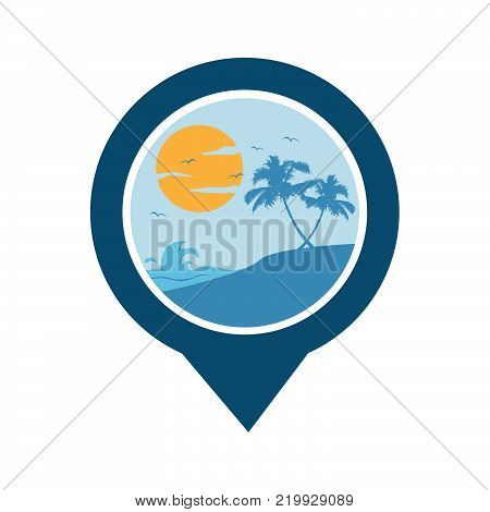 GPS beach logo. GPS vector. GPS icon. Navigation vector logo. Navigation vector icon. Travel logo. Travel icon. Travel vector logo. Travel vector. GPS logo. GPS icon. Navigation logo set