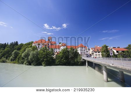Spitalkirche In Fussen, Bavaria, Germany