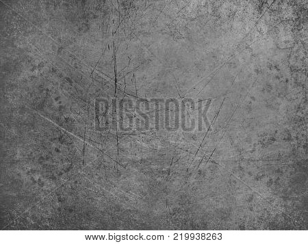 Old vintage abstract drawing background with sharp stripes, black and white.