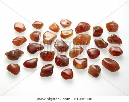 Small tumbled stones