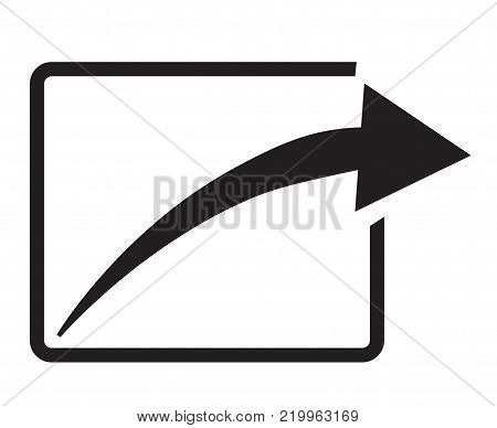 share icon on white background. share sign. share icon in trendy flat style.