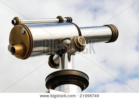 Bronze And Aluminium Telescope