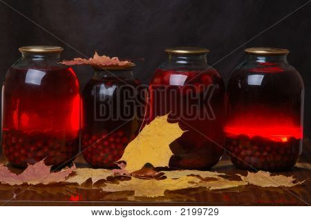 Compote From Red Berries