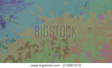 Wide format abstract grunge background. Vector EPS10 without gradient with transparency. Place for text. Paint splashes theme. Background for presentation, business card. Digitally wallpaper.