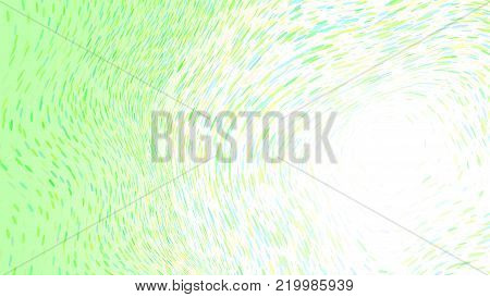 Wide format abstract background, optical illusion of gradient effect. Stipple effect. Rhythmic noise particles. Grain texture. Full HD wallpaper with strokes. Vector EPS10 with transparency