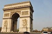 Arc de Triomphe in the Place Charles de Gaulle, Paris poster
