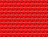 vector abstract red geometrical background (pattern of diamonds) poster