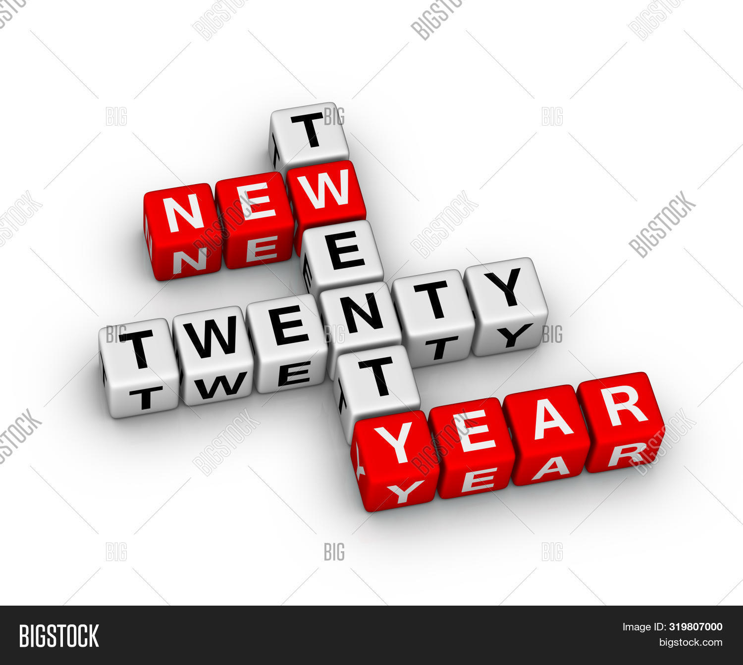 2020 Happy new year creative design background or greeting ...