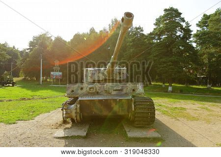 Snegiri Settlement, Istra District, Moscow Region, Russia August 21, 2019. German Battle Tank 510th