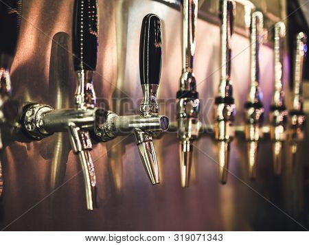 Craft Beer Tab Draught beer bar Brewery Party event Alcohol drink poster