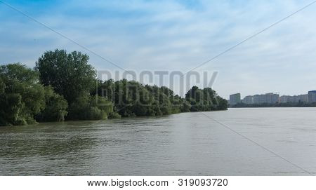 City Landscape With Views Of The Kuban River.