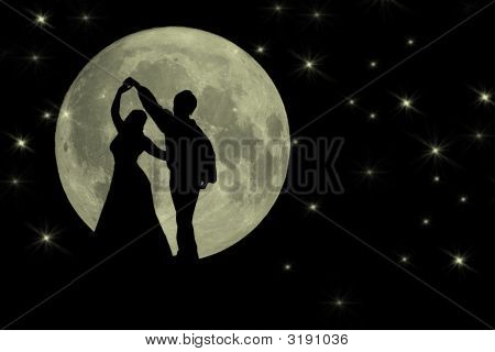 Dancing In The Moonlight Romantic Backgruond