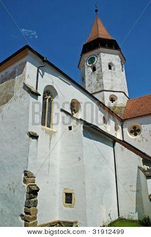Prejmer fortified church in Brasov county. Transylvania, Romania