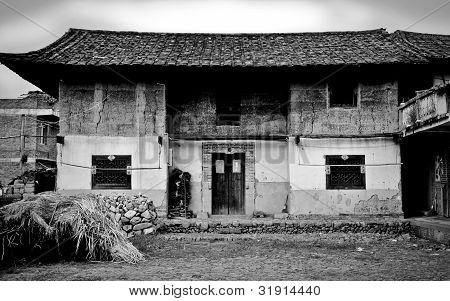 Tradtional Chinese Farmhouse