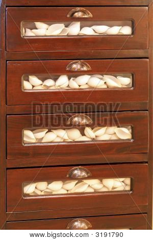 Pasta In Drawers
