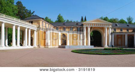 Courtyard In Arkhangelskoye Estate Near Moscow