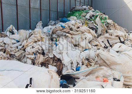 Background Garbage Bag Black Bin Waste, Garbage Dump, Bin, Trash, Garbage, Rubbish, Plastic Bags Pil