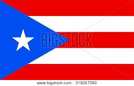 Puerto Rican Flag Or National Flag Of Puerto Rico - Celebration, Events, Wallpaper, Holiday, Graduat