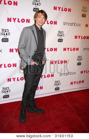 LOS ANGELES - APR 10:  Dylan Riley Snyder arrives at the NYLON Magazine 13th Anniversary Celebration at Smashbox on April 10, 2012 in Los Angeles, CA