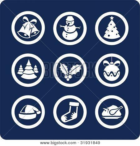 Navidad y año nuevo (p.2) para ver todos los iconos, búsqueda por palabras clave: