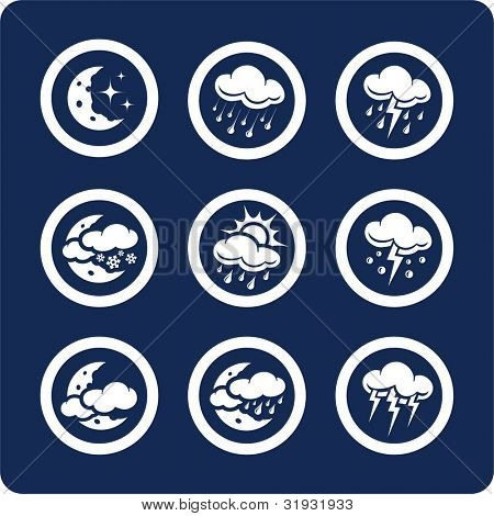 Weather icons (p.2) To see all icons, search by keywords: