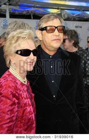 LOS ANGELES - APR 12: Michael York, wife Pat at the TCM Classic Film Festival opening night premiere - 40th anniversary restoration of 'Cabaret' on April 12, 2012 in Los Angeles, California