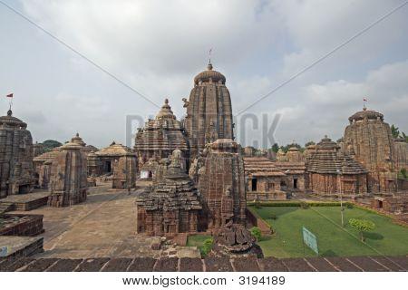 Hindu Temple Complex In Orissa