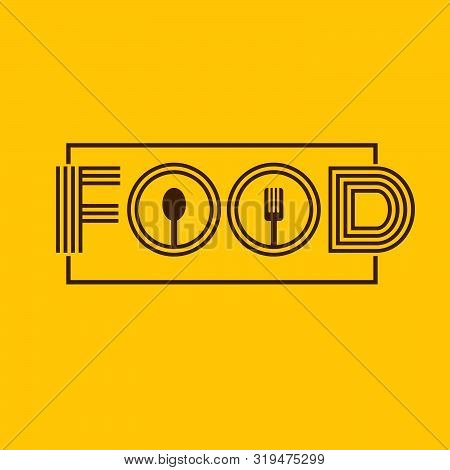 Food Label Text For Your Design Eps 10 Vector