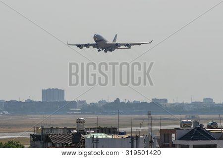 Saigon, Vietnam - Feb 25, 2019. Ra-96014 Rossiya (special Flight Detachment) Ilyushin Il-96 Taking-o