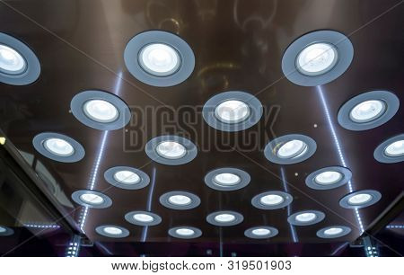 Light fixtures suspended ceiling, and Lighting equipment poster