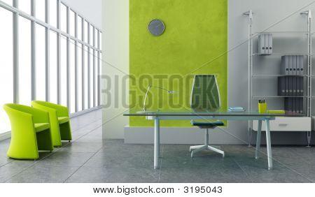 Interior de escritório moderno