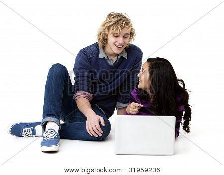 computer couple