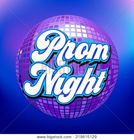 Prom Night Party Background For Poster Or Flyer