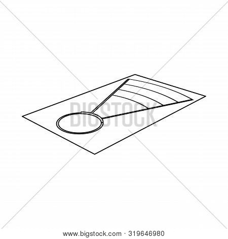 Isolated Object Of Throwing And Ground Sign. Set Of Throwing And Throwing Stock Vector Illustration.