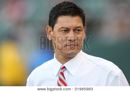 CARSON, CA. - JULY 3: Chivas USA head coach Martin Vasquez during the Chivas USA vs Philadelphia Union game on July 3 2010 at the Home Depot Center in Carson, California.