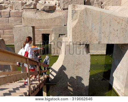 Egypt Nile Cruise Luxor Aswan, Mysterious Signs And Symbols In The Temples Of Osiris Isis And Other
