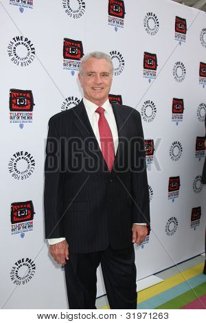 LOS ANGELES - APR 12:  Kevin Dobson arrives at Warner Brothers