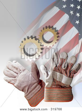 Symbols For American Work Force - American Industry