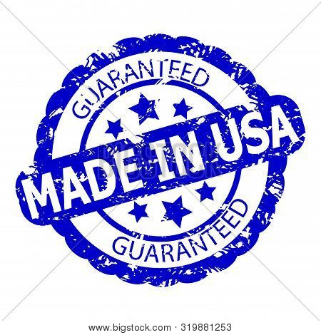 Guarantee Item Real Made In Usa. Texturise Rubber Stamp For Product, That Fabricated In United State