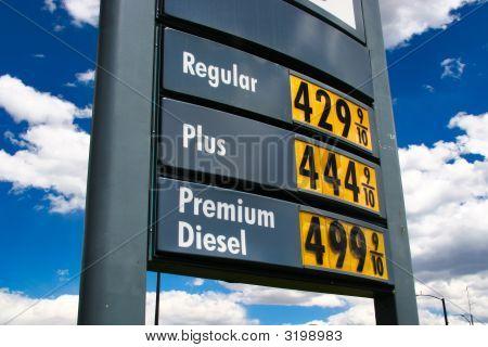 Sky High Gas Price Plus 4.44