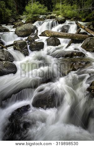 Rocky Mountain National Park Waterfalls And Rushing Creeks