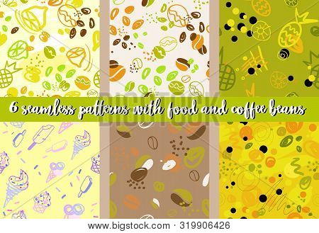 The Illustrations Used Lime, Limon, Pineapple And Coffee As The Main Element. There Is Also An Abstr
