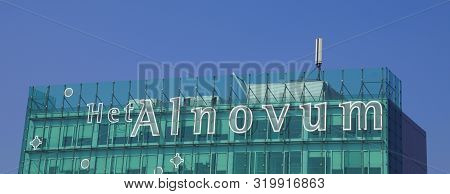Almere, The Netherlands - September 1, 2019: Wall Logo Of Dutch Conference And Meeting Room Het Alno