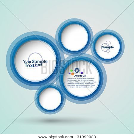Abstract new web design , vector