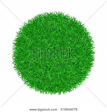 Green Grass Circle 3d Vector & Photo (Free Trial) | Bigstock