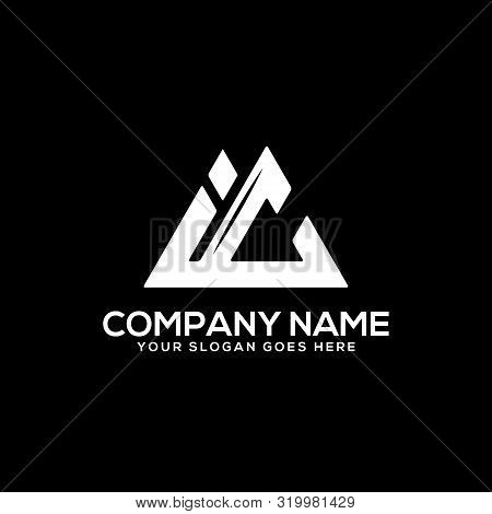 Ic Initial Logo Inspiration, I And C Logo Vector, Can Used Sport, Finance, Firm Logo Template